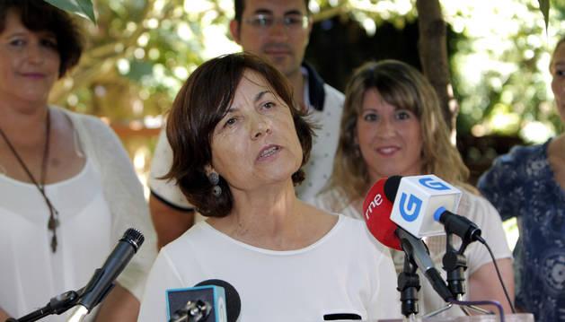 La profesora de sociología Magdalena Barahona.