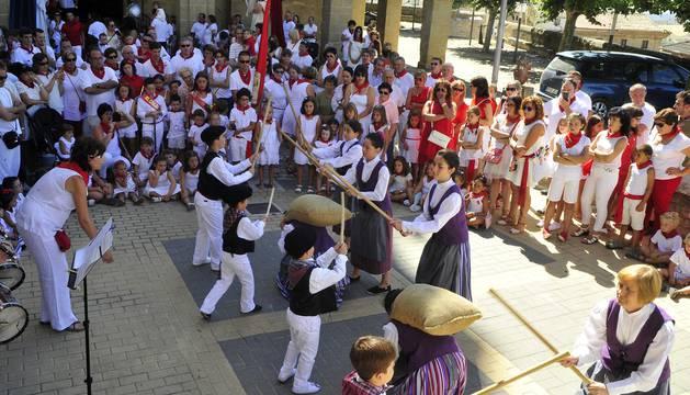 Larraga celebra el día del niño