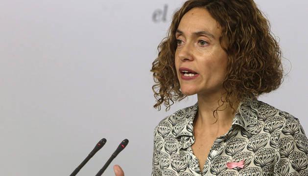 La secretaria de Programas y Estudios del PSOE, Meritxell Batet.