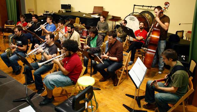 La Big Band del Conservatorio Superior en una imagen de archivo.