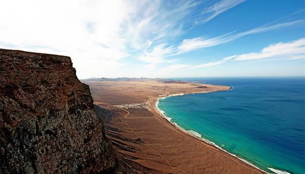 Vista de Lanzarote.