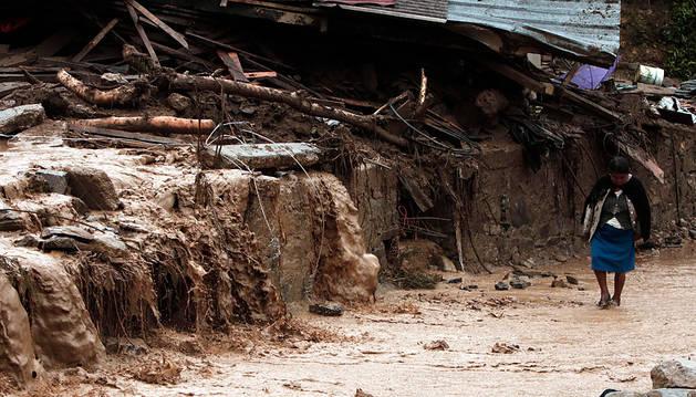 La tormenta tropical Earl deja al menos 39 muertos a su paso por México