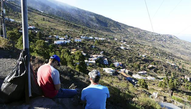 Noche sin sobresaltos en La Palma y los medios se centran en el frente activo