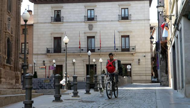 Tudela pondrá en marcha la peatonalización del Casco Viejo en septiembre