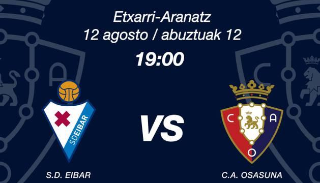 Las entradas para el amistoso contra el Eibar, a 10 euros