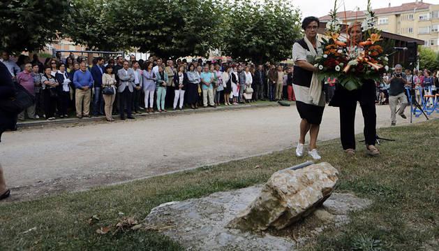 Vecinos de Berriozar, familiares y políticos recuerdan a Francisco Casanova