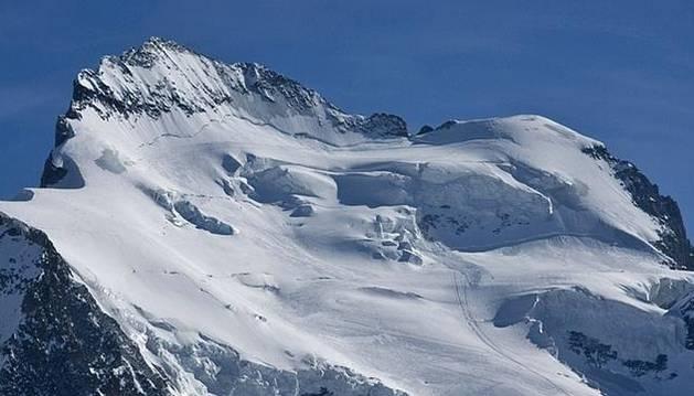 Macizo de Écrins, en los Alpes franceses.