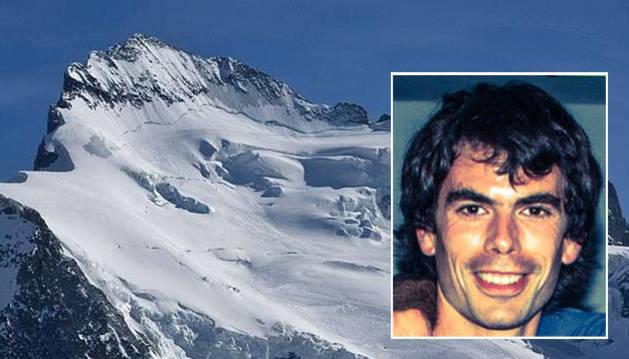 Muere un alpinista de Alsasua por una caída en los Alpes franceses