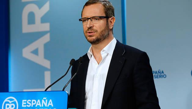 Javier Maroto, vicesecretario de Sectorial del PP.