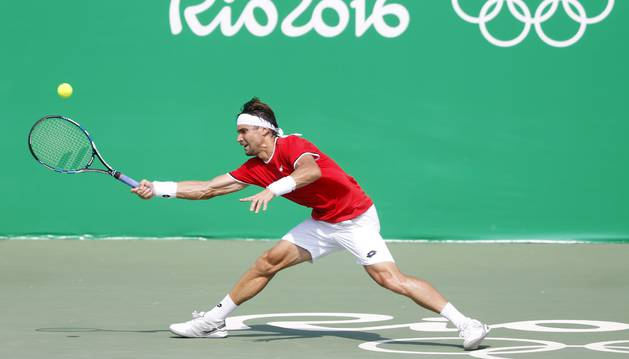 David Ferrer, contra Donskoy.