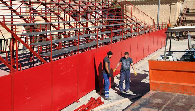 Milagro compra una plaza de toros portátil con un coste de 87.000 €