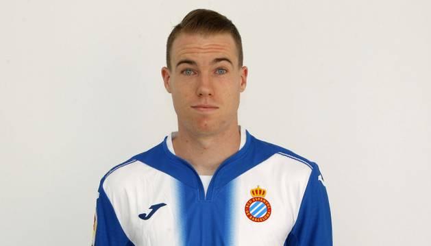 Clerc, con el Espanyol.