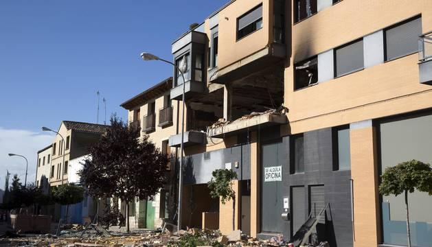 Explosión en Tudela