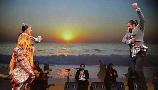 Una actuación flamenca