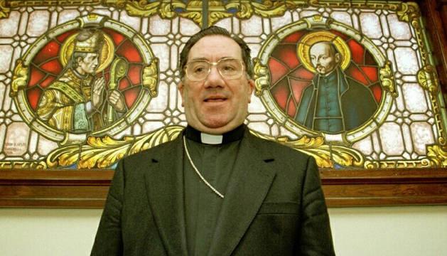 Miguel Asurmendi, en una imagen de 1998.