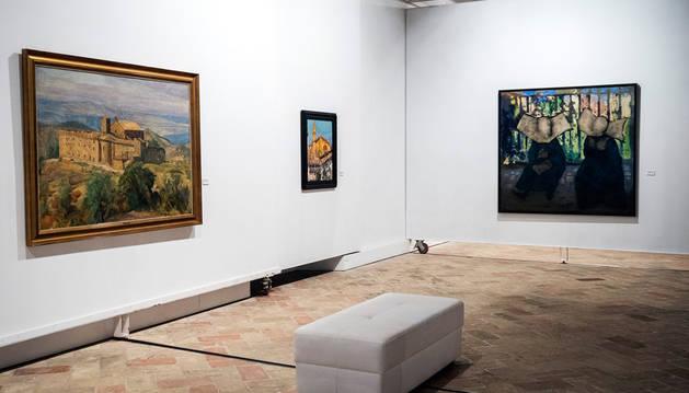 Exposición retrospectiva del pintor navarro Jesús Basiano.