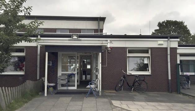 Un centro de refugiados en Alemania.