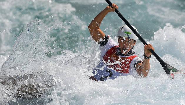 Maialen Chourraut, oro en slalom K1 de piragüismo