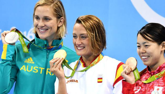 Belmonte, en el selecto grupo de cuádruples medallistas españoles
