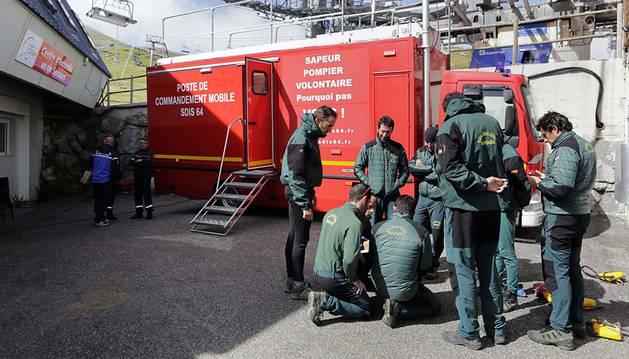 Inminente rescate del espeleólogo francés en la sima de Larra