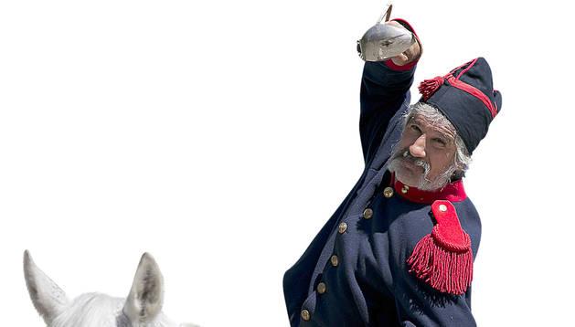 El general Concha vuelve a morir en Abárzuza