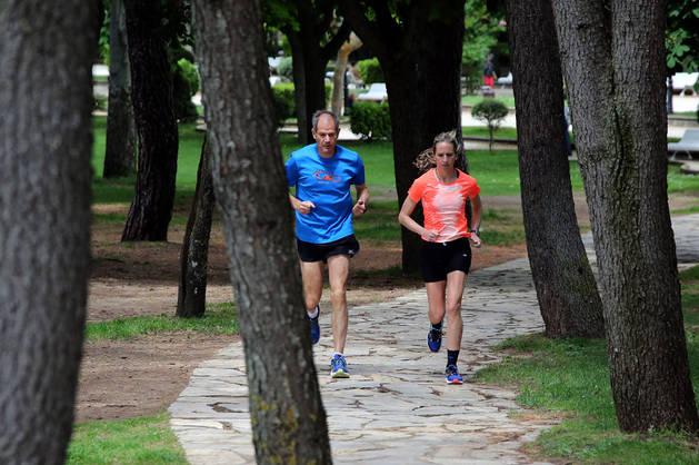 """""""Cada mañana, fuera un buen o mal día, me he levantado pensando: '¿Pero cómo no voy a estar ilusionada y con ganas si estoy  preparando un maratón de los Juegos? Eso ayuda"""", reconoce Navascués."""