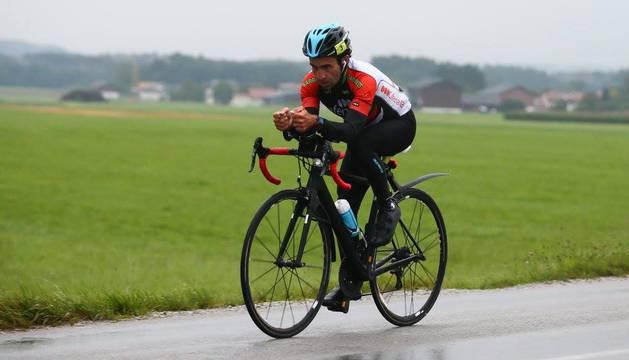 Javier Iriberri compite hasta el lunes en la Race Around Austria