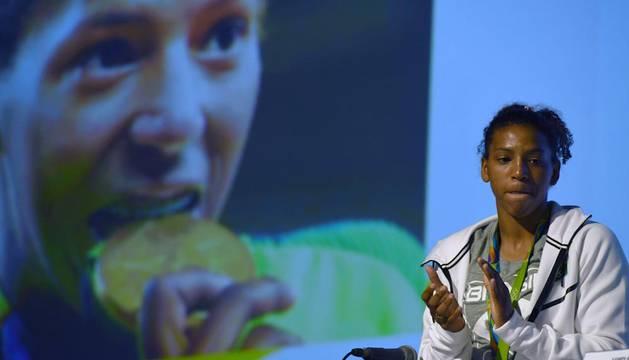 Rafaela Silva, de la favela al oro