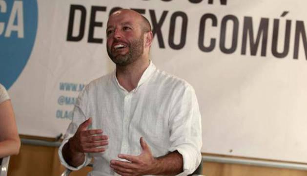 El candidato a primarias de En Marea, Luis Villares.