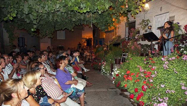 Poemas de una noche de verano en Ablitas