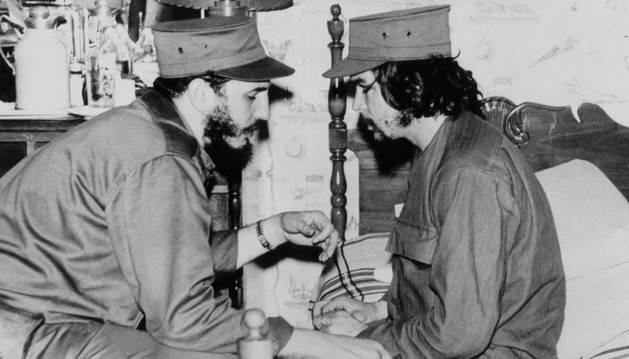 Fidel Castro con Ernesto