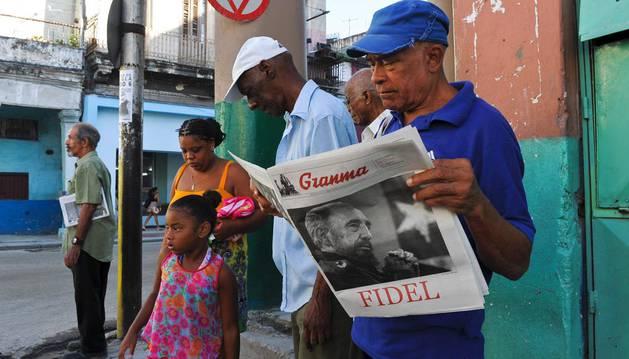 Fidel Castro se reivindica como gran impulsor de la Revolución Cubana