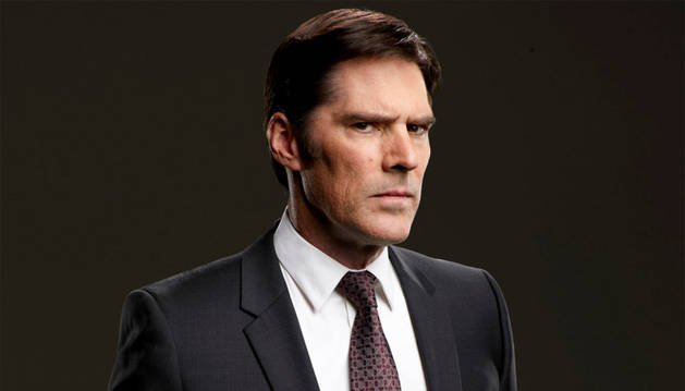 El actor Thomas Gibson de la serie televisiva 'Criminal Minds'.