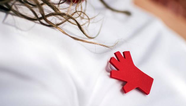 El símbolo de la campaña contra las agresiones sexistas.