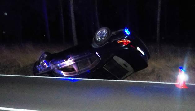 Accidente de Funes, cuyo conductor ha sido imputado.