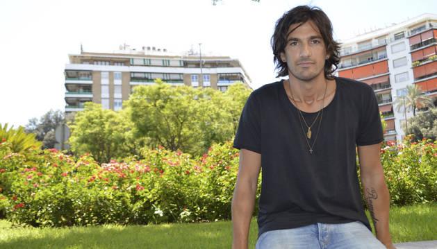 El cantante y compositor sevillano Hugo Salazar.
