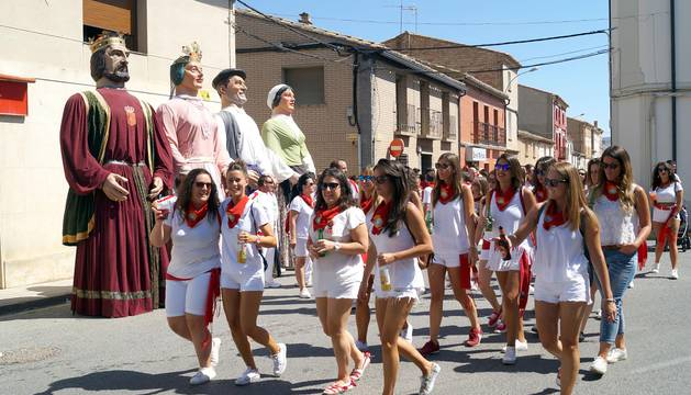 Cohete de fiestas en Buñuel