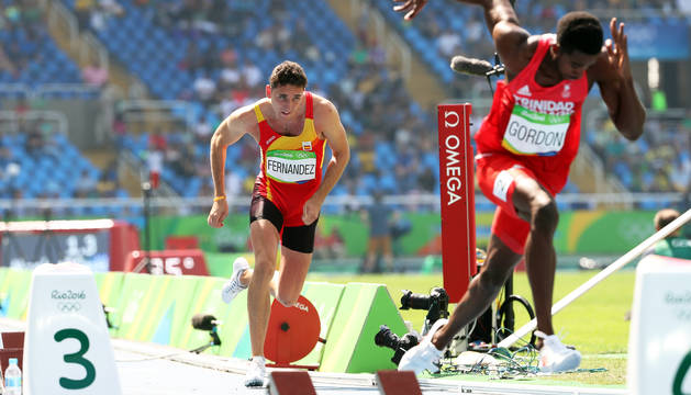 El navarro consiguió una histórica clasificación a semifinales en los Juegos Olímpicos de Río 2016.