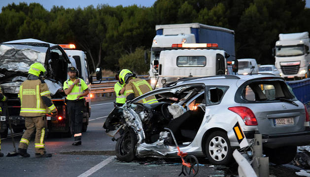 Muere un vecino de Mutilva Baja en una colisión en Ausejo (La Rioja)