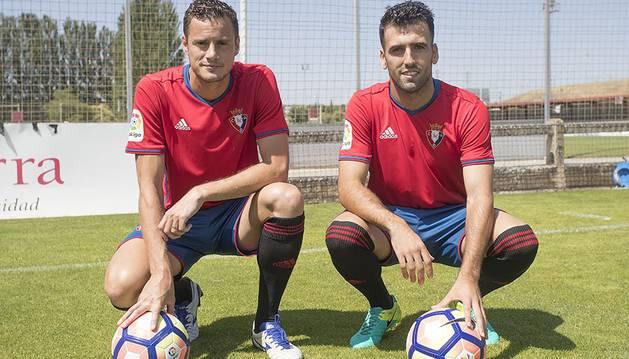 Oriol Riera y Fuentes, en su presentación con Osasuna.