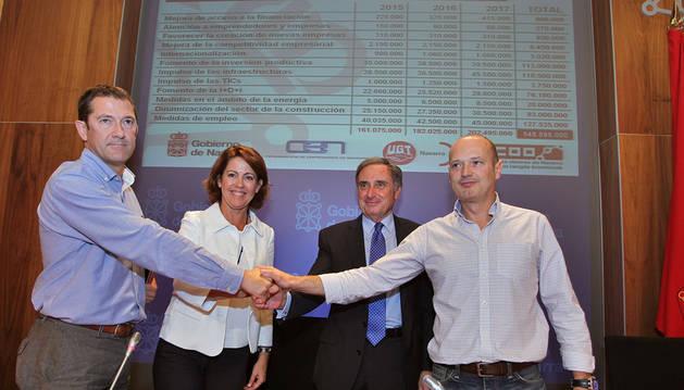 El PSN pide información sobre el acuerdo de reactivación económica