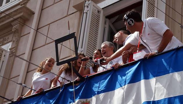 Imágenes de las fiestas de Valtierra del 17 de agosto de 2016