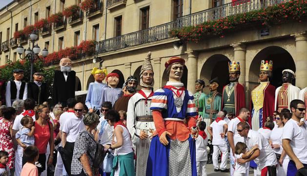 Fiestas de Tafalla. 17 de agosto de 2016.