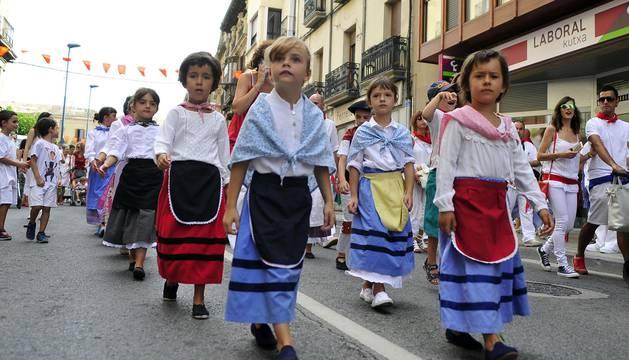 Imágenes del cuarto día de las fiestas de Tafalla.