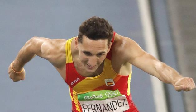 El navarro consiguió el récord de españa de la modalidad