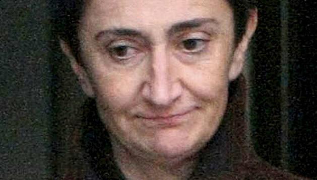 La responsable de comunicación del aparato internacional de ETA (Xaki), Elena Beloki.