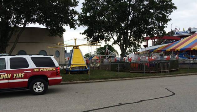 Heridos seis niños por una descarga eléctrica en un parque de atracciones