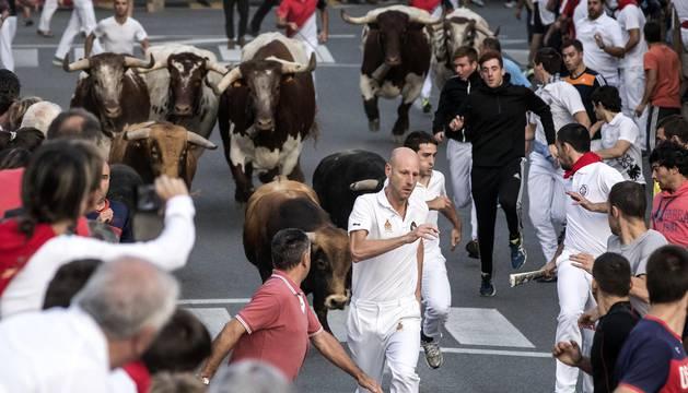 Los toros de Macua han protagonizado una carrera limpia y rápida