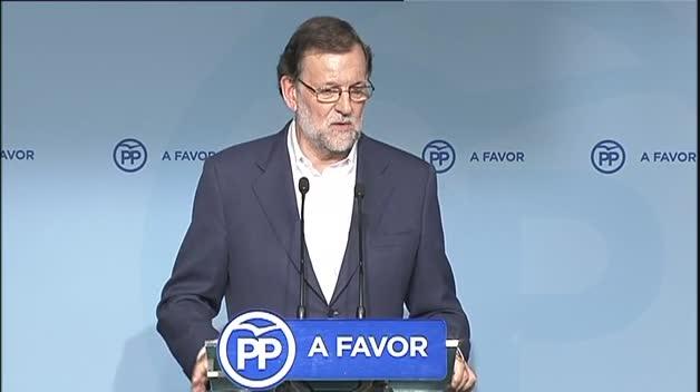 """Rajoy: """"No hemos hablado de las condiciones"""""""