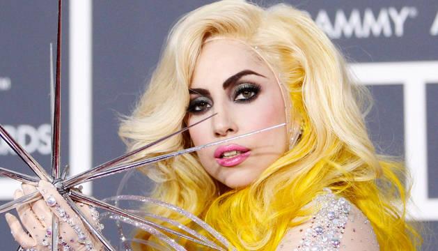 Lady Gaga, en la presentación de unos premios Grammy.
